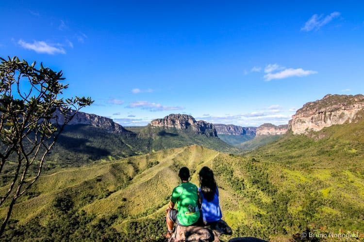 Mirante da Rampa, com vista para o Morro da Lapinha, Castelo e Sobradinho
