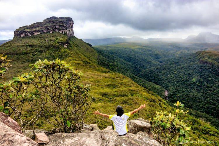 Vista para o Morro da Lapinha e Pati de Cima