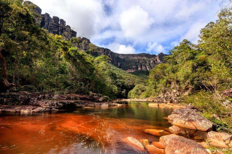 Encontro do Rio Calixto com o Rio Funis